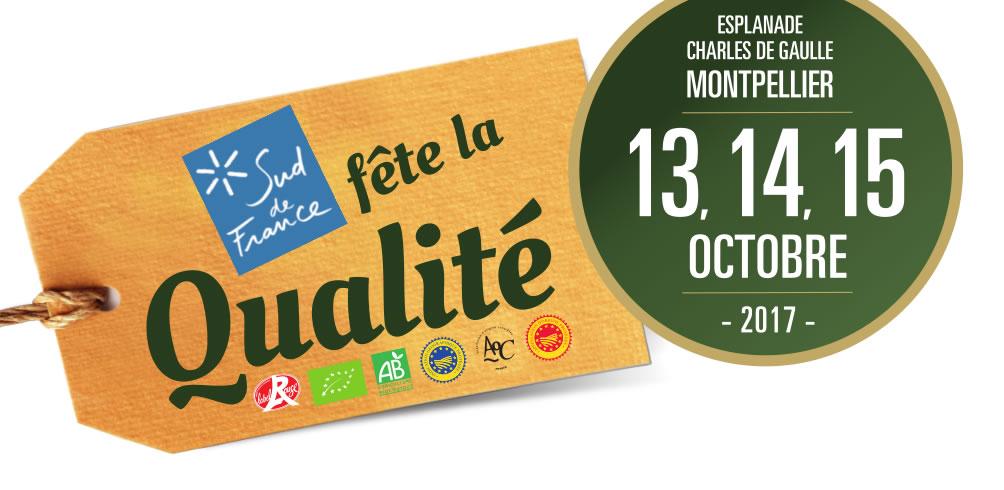Fête de la Qualité 13 , 14 , 15 octobre 2017
