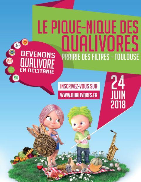 Pique-nique des qualivores d'occitanie – dimanche 24 juin prairie des filtres Toulouse